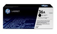 HP 36A Black Toner cartridge - CB436A