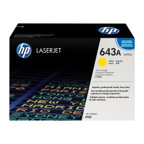 HP 643A Yellow Toner Cartridge 10,000 Pages - Q5952A