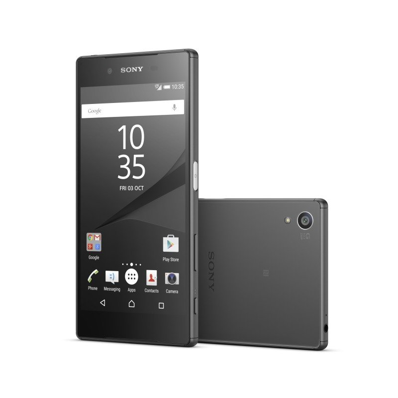 12984478 Sony Xperia Z5 5.2inch FHD 1080p Snapdragon 810 (MSM8994) Display  23MP Rear and 5MP Front Camera 3GB RAM 32GB Flash Android 5.1 Lollipop Phone Black