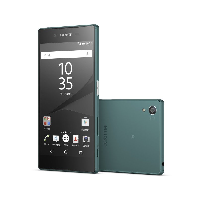 12984480 Sony Xperia Z5 5.2inch FHD 1080p Snapdragon 810 (MSM8994) Display 23MP Rear and 5MP Front Camera 3GB RAM 32GB Flash Android 5.1 Lollipop Phone Green