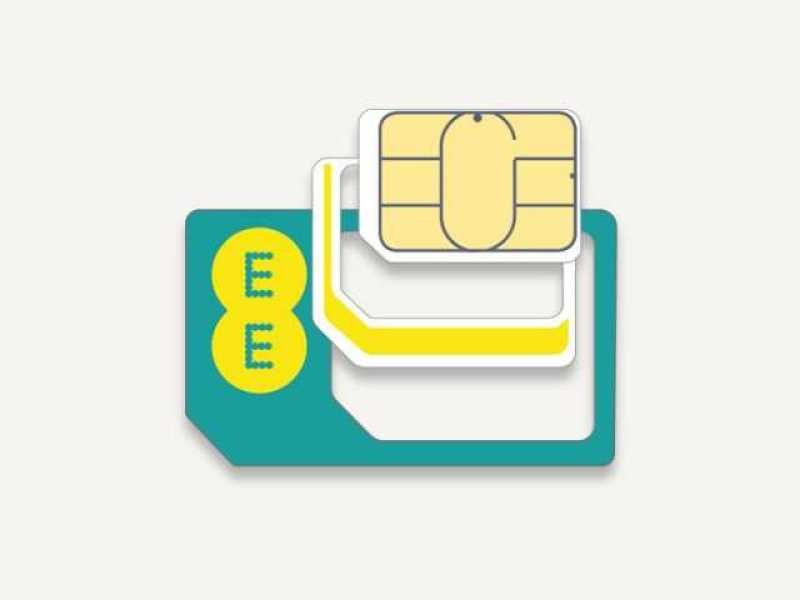 EE PAYG 4G Voice and Data SIM