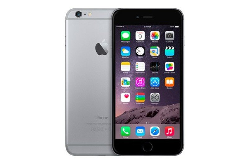 iPhone 6S 16Gb Space Grey A9 chip with 64bit Retina HD display with 3D Touch 4.7inch 12megapixel and facetime 5megapixel cellular and WiFi with MIMO Bluetooth LTE Phone