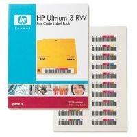 HPE LTO Ultrium 3 RW Bar Code Label Pack