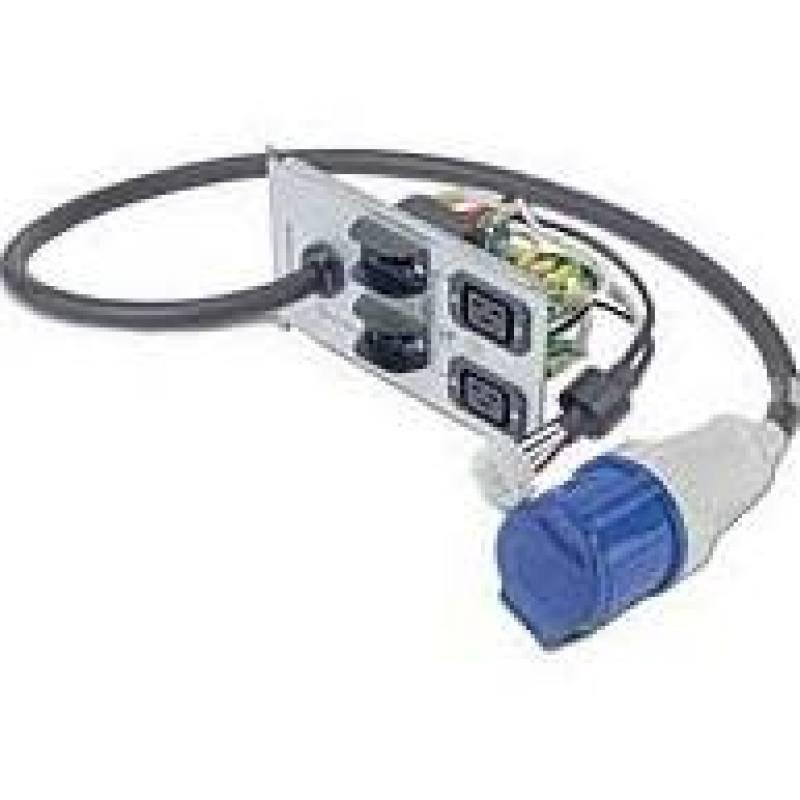 Symmetra RM 230V backplate kit w/(2) IEC320 C19 and (1) IEC 60309