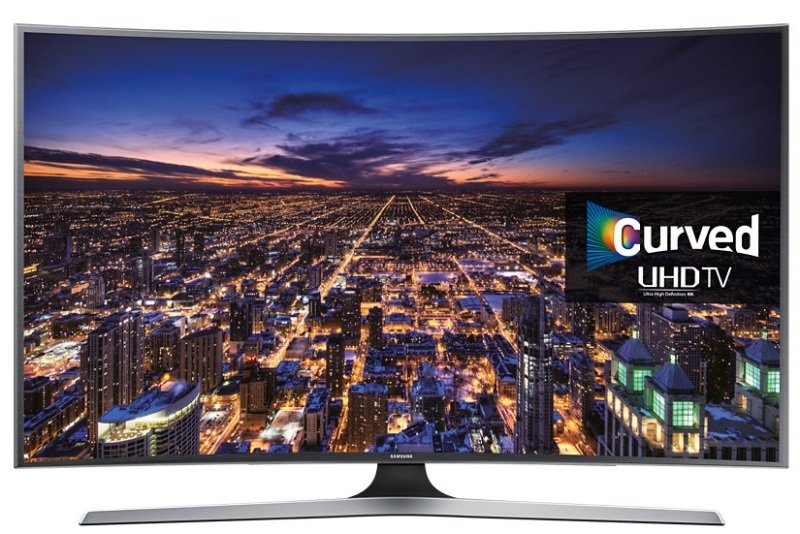 Image of Samsung Ue40ju6670 40 Inch Uhd 4k Curved Led Tv 1200 Pqi Smart Quad Core Processor Wifi Games Multi-screen Ii Mirror/ App Casting Ble Multi Room Link Voice Control Smart Control (included