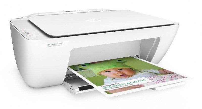 HP DeskJet 2130 All-in-One Multi-Function Colour Inkjet Printer & Scanner