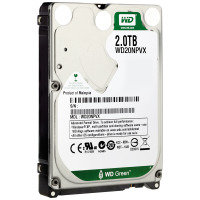 "WD Green 2TB 2.5"" SATA Mobile Hard Drive"