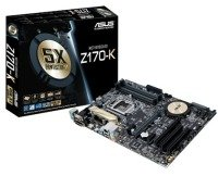 Asus Z170-K Socket 1151 DVI-D HDMI 8-Channel Audio ATX Motherboard