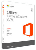 Office Home & Student 2016 for Mac Medialess