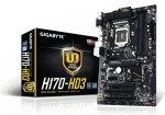 Gigabyte GA-H170-HD3 Socket 1151 VGA DVI HDMI 7.1 Channel Audio ATX Motherboard