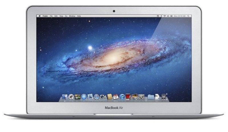 "Image of Apple MacBook Air 11 Laptop, Intel Core i5 1.6GHz DC, 4GB RAM, 128GB SSD, 11.6"" LED, No-DVD, Intel HD, Webcam, Bluetooth, Yosemite OS X"