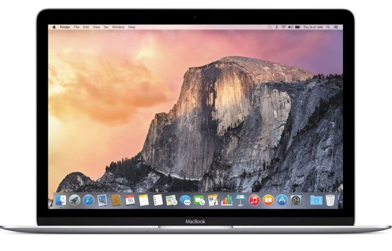 "Image of Apple MacBook 12 Laptop, Intel Core M 1.1GHz DC, 8GB RAM, 256GB SSD, 12"" LED IPS, No-DVD, Intel HD, WIFI, Webcam, Bluetooth, Yosemite OS X"