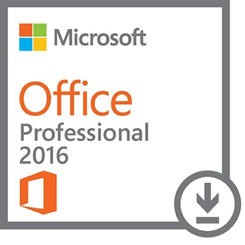 Microsoft Office Professional 2016 Electronic Software Download