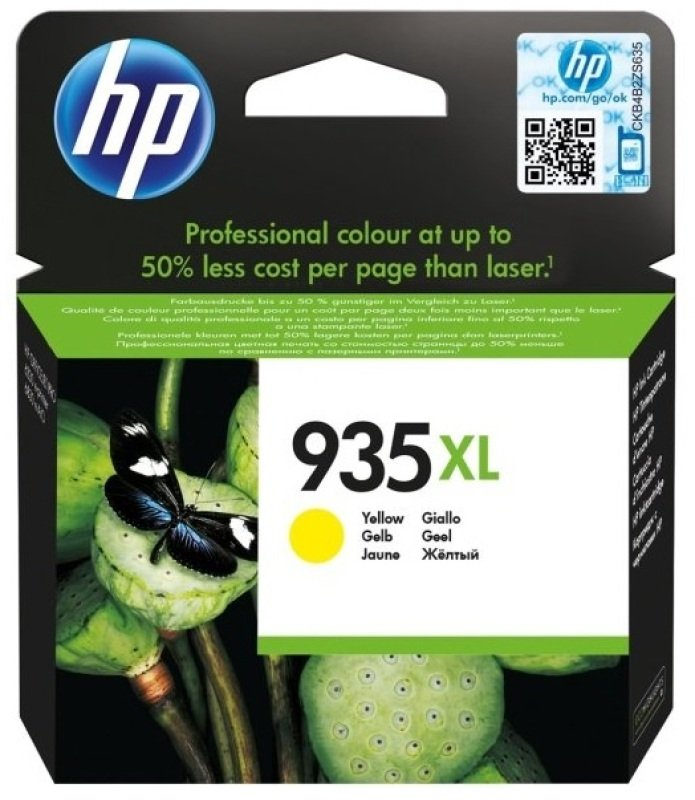 HP 935XL Yellow Ink Cartridge - C2P26AE