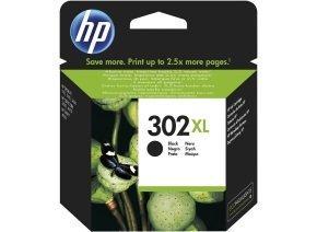 HP 302XL High Yield Black Ink Cartridge - F6U68AE