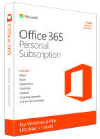 Office 365 Personal - 1 Year Subscription