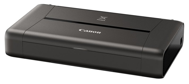Canon PIXMA iP110 Inkjet Photo Printer with Battery