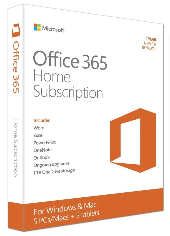 Office 365 Home - 1Yr Subscription