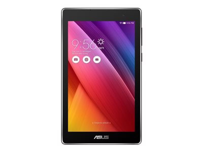 "Image of ASUS ZenPad C 7.0 Z170CG - Tablet - Android 5.0 (Lollipop) - 16 GB eMMC - 7"" IPS ( 1024 x 600 ) - rear camera + front camera - microSD slot - Wi-Fi, Bluetooth - 3G - black"
