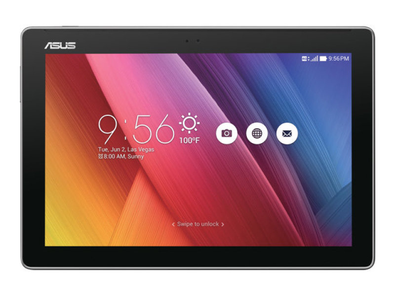 "Image of ASUS ZenPad 10 Z300C - Tablet - Android 5.0 (Lollipop) -2GB RAM 16 GB - 10.1"" IPS ( 1280 x 800 ) - rear camera + front camera - microSD slot - Wi-Fi, Bluetooth - black"