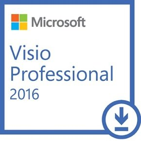 Microsoft Visio Professional 2016 - Electronic Software Download