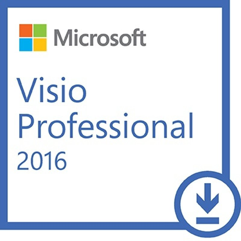 microsoft visio professional 2016 electronic software