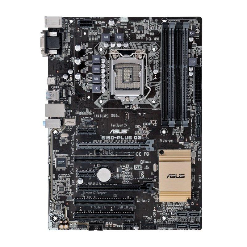 Asus B150PLUS D3 socket LGA1151 VGA DVID 8Channel HD Audio ATX Motherboard