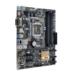 Asus B150M-A D3 socket LGA1151 VGA DVI-D HDMI 8-Channel HD Audio mATX Motherboard
