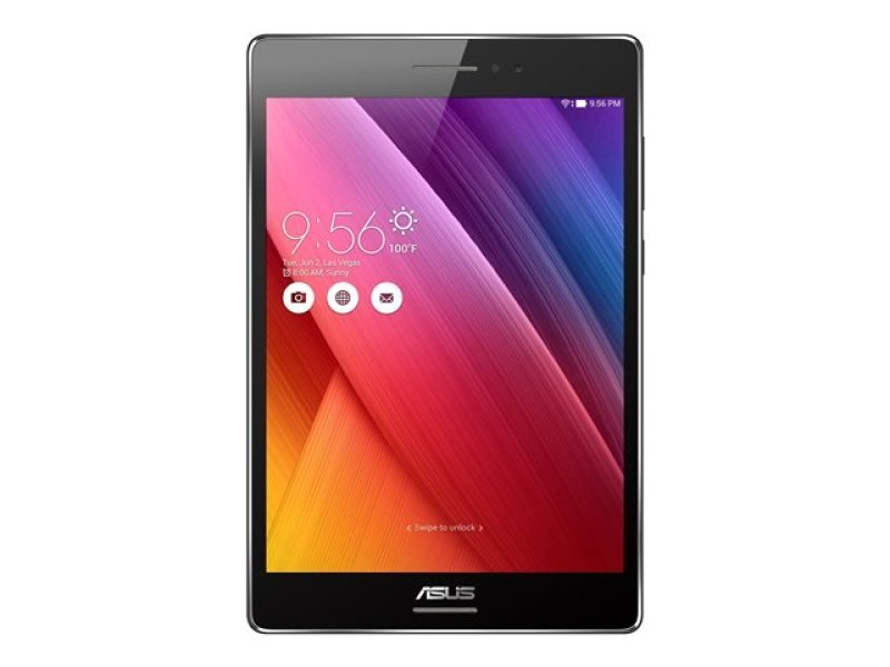 "Image of Asus ZenPad S 16GB Tablet - Black, - Intel Atom Z3530 1.33GHz- 2GB RAM + 16GB eMMC - 8"" IPS TFT - LED backlight Display/2048 x 1536 - 5MP Rear and 2MP Front Camera - Android 5.0 (Lollipop)"