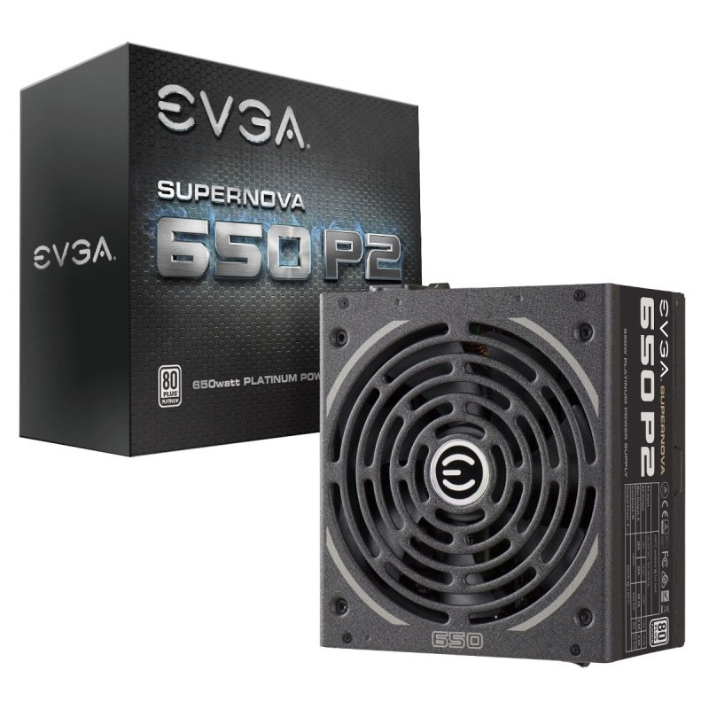 EVGA SuperNOVA 650 P2 Power Supply