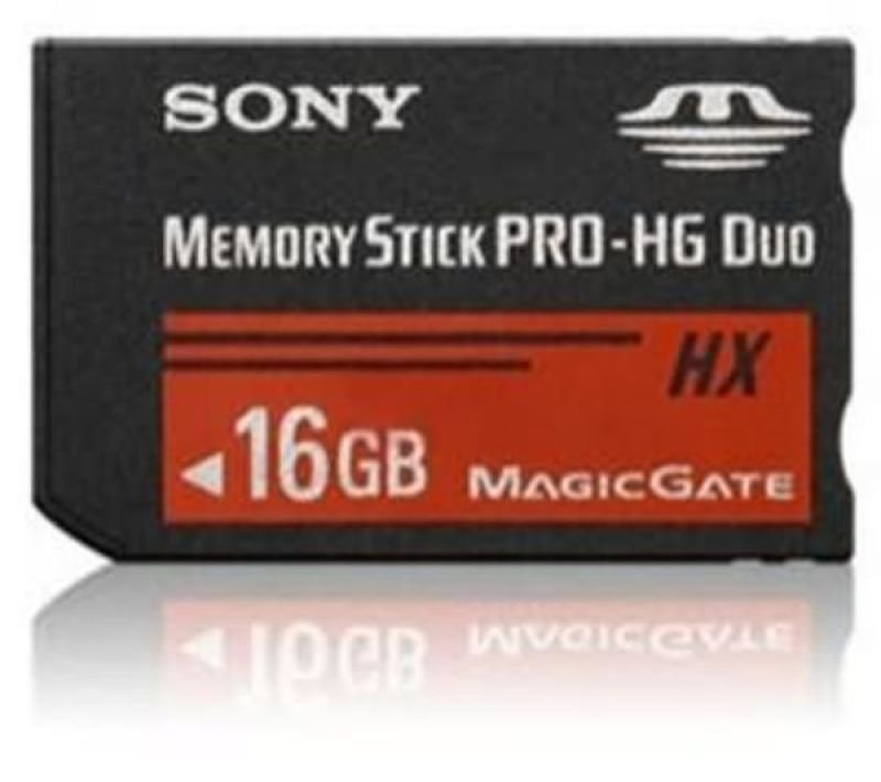 Sony 16GB Memory Stick Pro-HG Duo