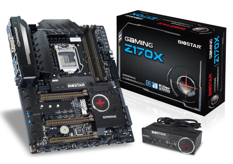 Biostar GAMING Z170X Ver. 5.x Socket LGA1151 DVID HDMi DisplayPort 8Channel Audio ATX Motherboard