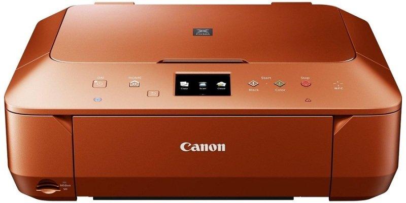 Image of *Canon PIXMA MG6650 Inkjet Photo Printer - Orange