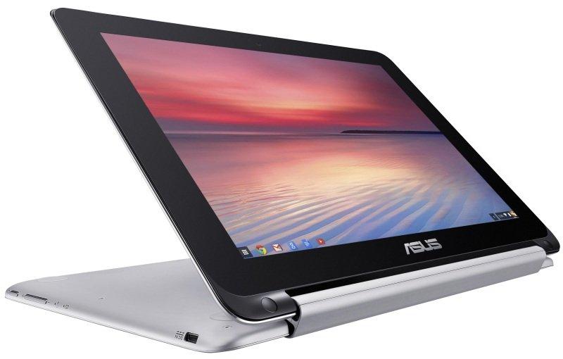 ASUS Chromebook Flip C100PA Rockchip Quad Core RK3288 4GB RAM 16GB 10.1&quot WXGA LED Touch IPS Webcam Bluetooth Chrome OS