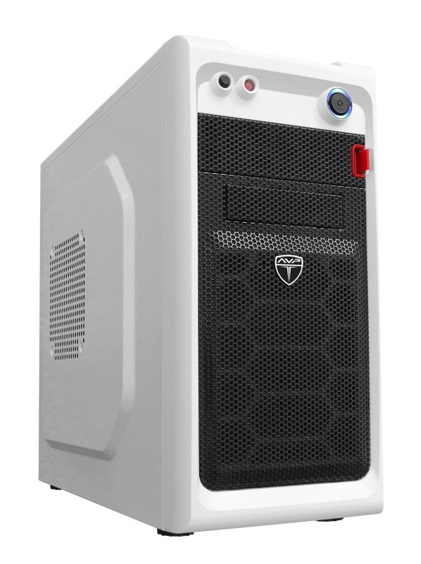 AvP EL03W Viper Mini Tower White 2 x 12cm Fans USB 3.0 case
