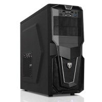 AvP Storm-P28 Mid Tower Black 1x12cm Black Fan USB 3.0 Case