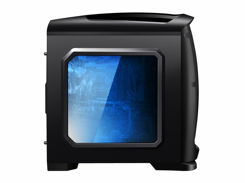 AvP VE-10B Venom Mid Tower Window Black Case USB3.0