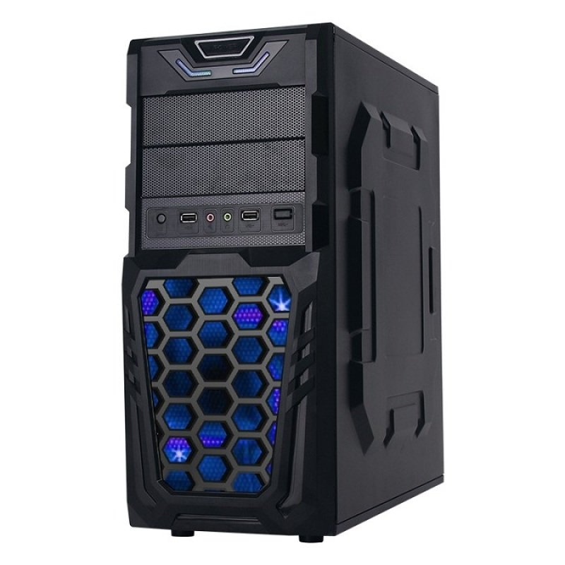 Image of AvP Meteor Mid Tower Case + 500W PSU