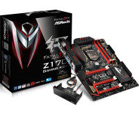 ASRock Fatal1ty Z170 Gaming K6+ Socket 1151 DVI-D HDMI DisplayPort 7.1 CH HD Audio ATX Motherboard