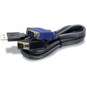 TRENDnet 15ft Usb/vga Kvm Cable