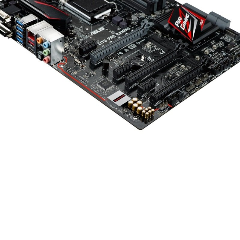 Asus Z170 PRO GAMING Socket 1151 VGA DVI HDMI 8-channel HD audio ATX Motherboard