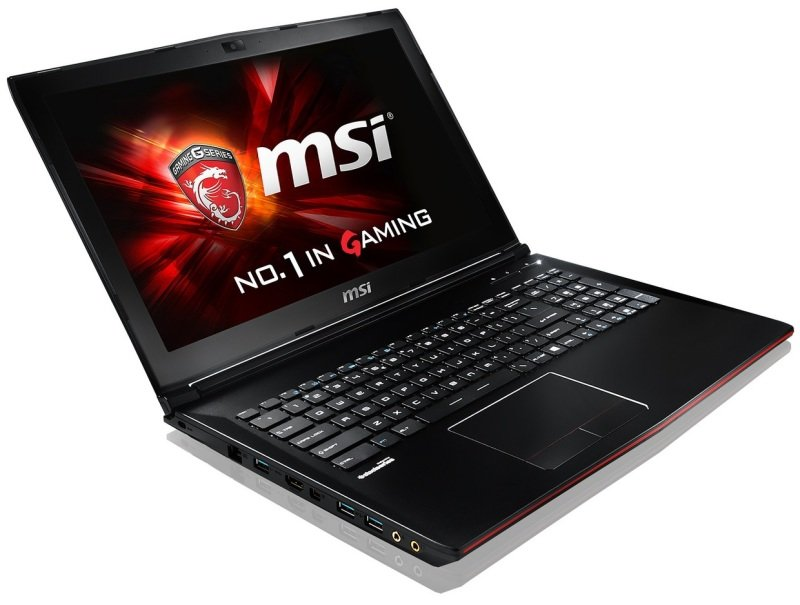 "Image of MSI GP62 2QD(Leopard)-078UK Gaming Laptop, Sharkbay i5-4210H 2.9GHz, 8GB RAM, 1TB HDD, 15.6"" FHD, DVDRW, NVIDIA 940M, Webcam, WIFI, Bluetooth, Windows10 High End Devices"