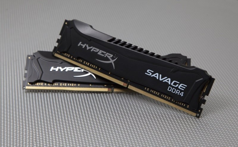 HyperX Savage Black 16GB DDR4 2133MHz Memory (2x8GB)