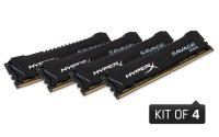 HyperX Savage Black 16GB Kit DDR4 2666MHz Memory (4x4GB)