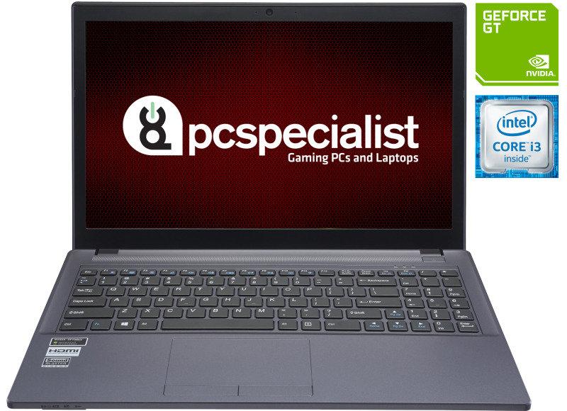 "Image of PC Specialist Cosmos IV V15-940 Gaming Laptop, Intel Core i3-6100H 2.70GHz, 8GB RAM, 1TB HDD, 15.6"" FHD IPS, DVDRW, NVIDIA GT 940M, WIFI, Webcam, Bluetooth, Windows 10 Home 64bit"