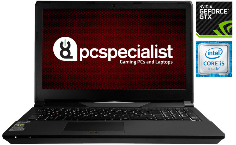 "Image of PC Specialist Optimus VII V15-960 Gaming Laptop, Intel Core i5-6300HQ 2.30GHz, 8GB RAM, 1TB HDD, 15.6"" FHD LED, DVDRW, NVIDIA GT 960M, WIFI, Webcam, Bluetooth, Windows 10 Home 64bit"