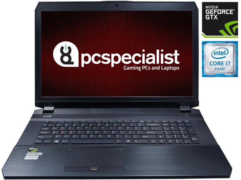 "Image of PC Specialist Defiance II V17-980 Gaming Laptop, Intel Core i7-6700HQ 2.60GHz, 16GB RAM, 480GB SSD, 1TB HDD, 17.3"" FHD, NVIDIA GTX 980M, WIFI, Webcam, Bluetooth, Windows 10 Home 64bit"