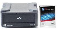 HPE RDX+ 1TB USB 3.0 External Disk Backup System
