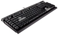 Corsair K40 Gaming Keyboard, 6 Programmable G keys, Backlit Multicolor LED
