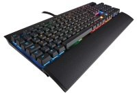 Corsair Gaming K70 RGB Mechanical Gaming Keyboard, Aircraft - grade aluminum, Backlit Multicolor LED, Cherry MX Red
